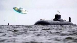 Ex almirante de la Armada Soviética dice que fue testigo de un Platillo Volador saliendo del océano
