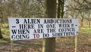 Los habitantes de una localidad inglesa denuncian que están sufriendo abducciones extraterrestres