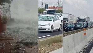 ¿Es ésta la era de las guerras climáticas? 'Apocalíptica' granizada destroza cosechas y decenas de coches en Italia