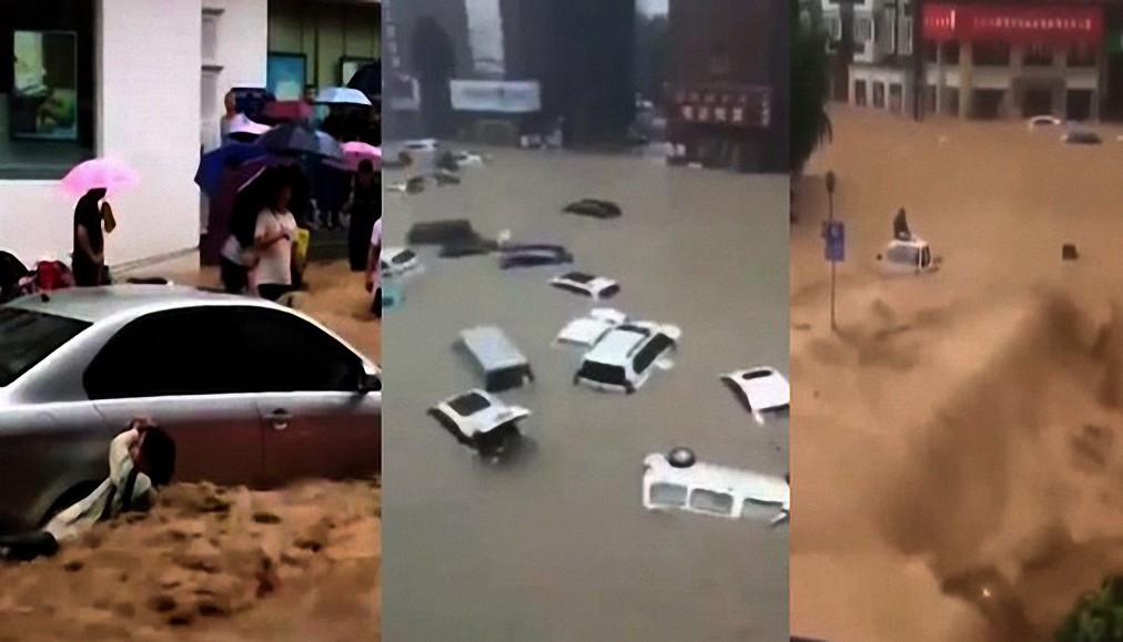 Expertos meteorológicos en China califican las lluvias más intensas en 1.000 años