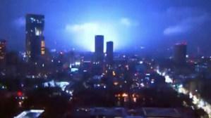 ¿Qué son las luces de terremoto que iluminaron el cielo durante el sismo de 7,1 en México?