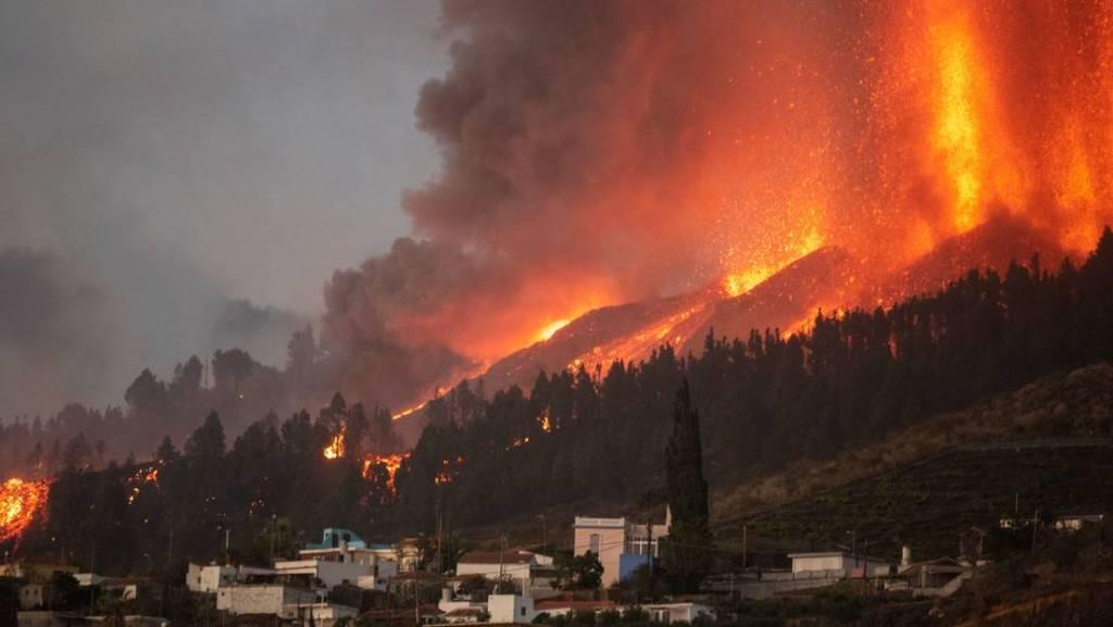 Se estima entre 24 y 84 días la duración de la erupción en La Palma