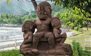"""Las misteriosas estatuas """"extraterrestres"""" en la isla de Nuku Hiva"""