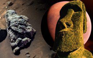 Marte: ¿Estatua alienígena ha sido captada por el Rover Perseverance?