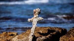 Recupera del fondo marino israelí una espada de un cruzado, que navegó a Tierra Santa hace unos 900 años