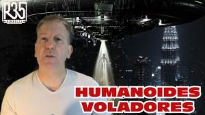 Nos advierten de algo: Humanoides voladores