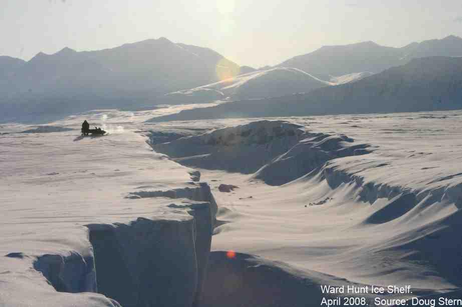 ward hunt ice shelf april 08  sml
