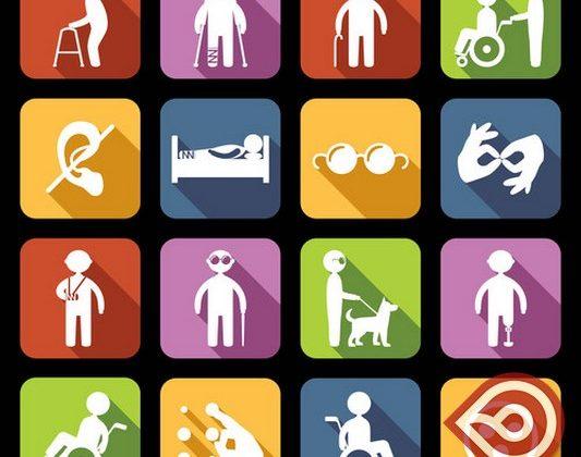 Discapacidad, logos