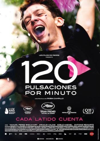 120 pulsaciones por minuto cartel