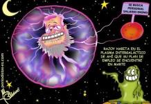 Rajoy y su plan de empleo en el plasma intergaláctico.