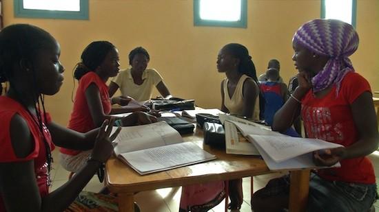 Escuela de la Fundación Repsol en Louly Benteigné, Senegal.