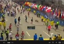 Imágenes del atentado contra la maratón de Boston