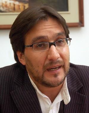 Edwin Jarrin, asesor político de la Presidencia de Ecuador. Foto Emilio Sánchez/Presidencia)