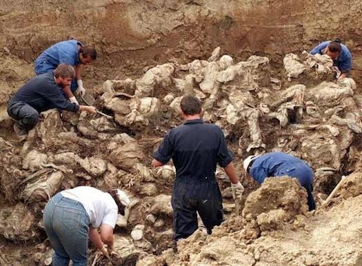 Fosas de personas asesinadas en Asturias en la guerra civil y el franquismo