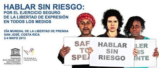 Hablar sin riesgo. Costa Rica