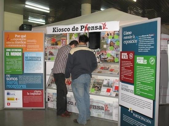'Kiosco de pensar'. canalslidario.org