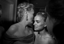 (C) Larry Fink. Meryl Streep y Natalie Portman. Party de los Óscar, Los Angeles, 2009