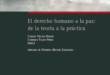Portada Derecho humano a la paz