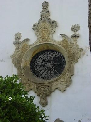 Ventana del Monasterio de Madre de Dios, estilo barroco.