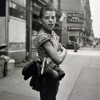Sin título. 3 de septiembre, 1954 © Vivian Maier, Maloof Collection, Cortesía Howard Greenberg Gallery, Nueva York