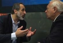 Garcia-Margallo con Moaz-Al Jatib en Madrid