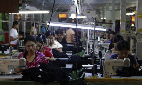 Trabajadoras textiles en Bangladesh