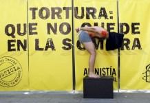 Campaña de Amnistía Internacional contra las prácticas de tortura en España