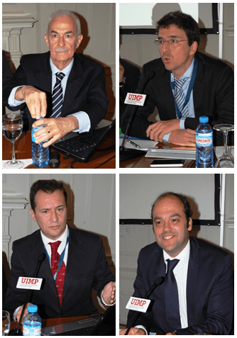Juan Ignacio Crespo, Jorge Sicilia, Esteban García-Canal y José Carlos Díez