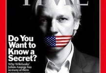 Portada de Time dedicada a Julian Assange