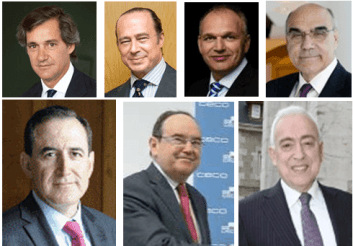 Entrenacanales, Vázquez, Stackmann, Alemany, Huertas, Fernández y Martín