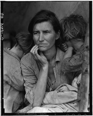 """Dorothea Lange Migrant Mother secuencia 6 """"Madre migrante"""" o el respeto como paradigma (1)"""