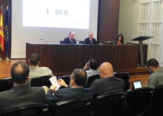 La Calle, Cortes y Belver en la presentación de Liber 2013