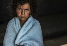 ACNUR/ O.Laban-Mattei: niña refugiada en el campo de Za'atari, en Jordania