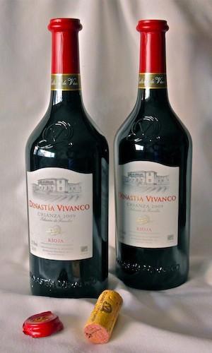 Dinastía Vivanco Rioja Crianza 2009. (C) Manuel López