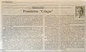 Pronunciese-Cringue