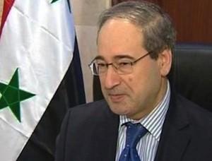 Siria-Faisal-Miqdad