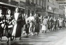 Mujeres se movilizan en México por la nacionalización del petróleo