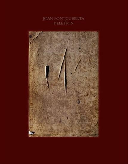 Cubierta del libro DELETRIX. Joan Fontcuberta