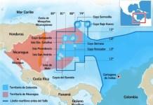 Zona fronteriza marítima entre Colombia y Nicaragua