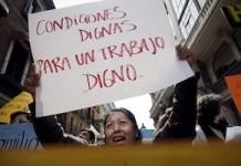 Mujeres reclaman trabajo digno