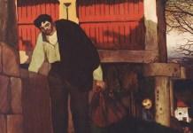 Castelao. El emigrante, 1916 (detalle)