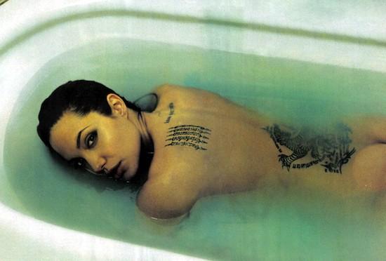 (C) Annie Leibovitz. Angelina Jolie