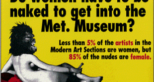 Guerrilla Girls. Póster 1989
