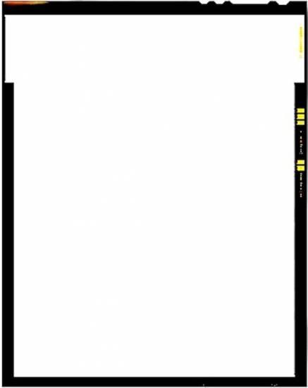 """Hoja de película de gran formato, 9x12 cm (4 x 5"""")"""