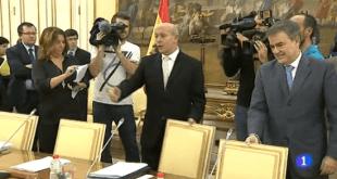 El ministro Wert en una imagen del Telediario de TVE.