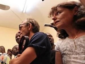 Ghislaine Dupont y Claude Verlon, foto aportada por RFI