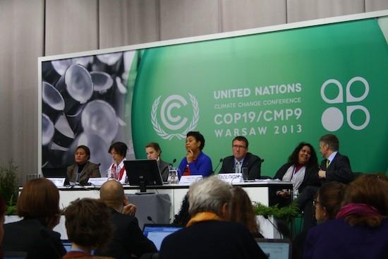 Panelistas-COP19-SilviaGiannelli-IPS