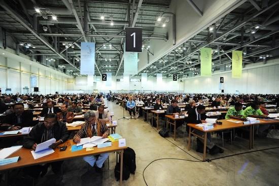 Plenaria de la X Asamblea del Consejo Mundial de Iglesias