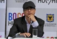 Gustavo Petro en su época de alcalde mayor de Bogotá