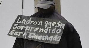En Bolivia, la falta de una justicia eficaz conducía a linchamientos